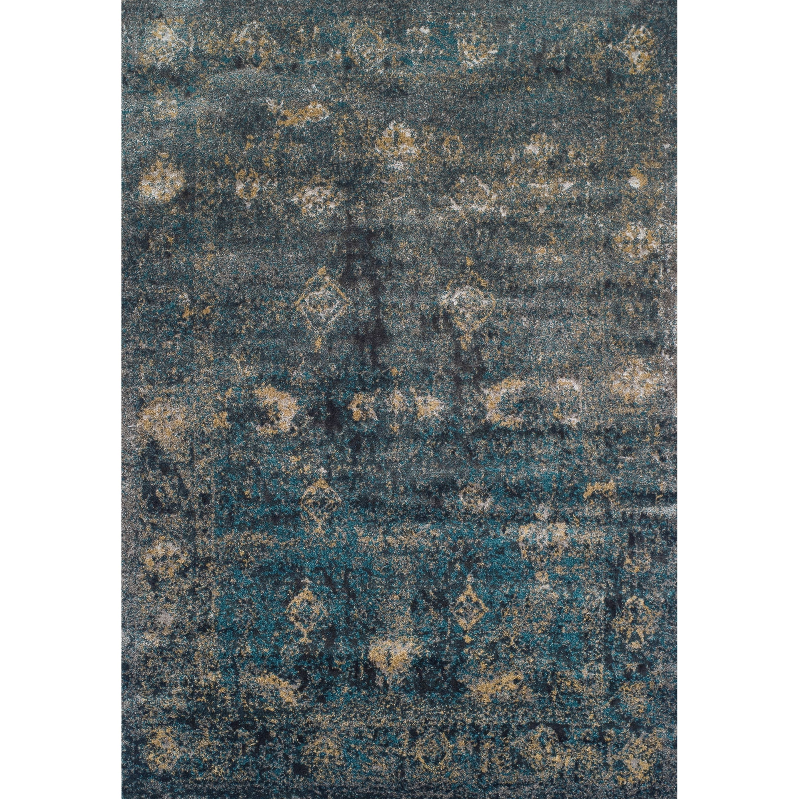 "Dalyn Antiquity Charcoal 3'3""X5'1"" Rug - Item Number: AQ1CC3X5"