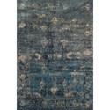 "Dalyn Antiquity Charcoal 5'3""X7'7"" Rug - Item Number: AQ1CC5X8"