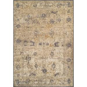 """Dalyn Antiquity Ivory / Grey 3'3""""X5'1"""" Rug"""