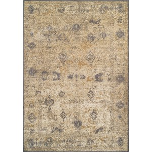 "Dalyn Antiquity Ivory / Grey 5'3""X7'7"" Rug"