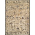 "Dalyn Antiquity Ivory / Grey 5'3""X7'7"" Rug - Item Number: AQ1GR5X8"