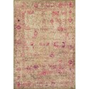 "Dalyn Antiquity Ivory / Pink 3'3""X5'1"" Rug - Item Number: AQ1PI3X5"