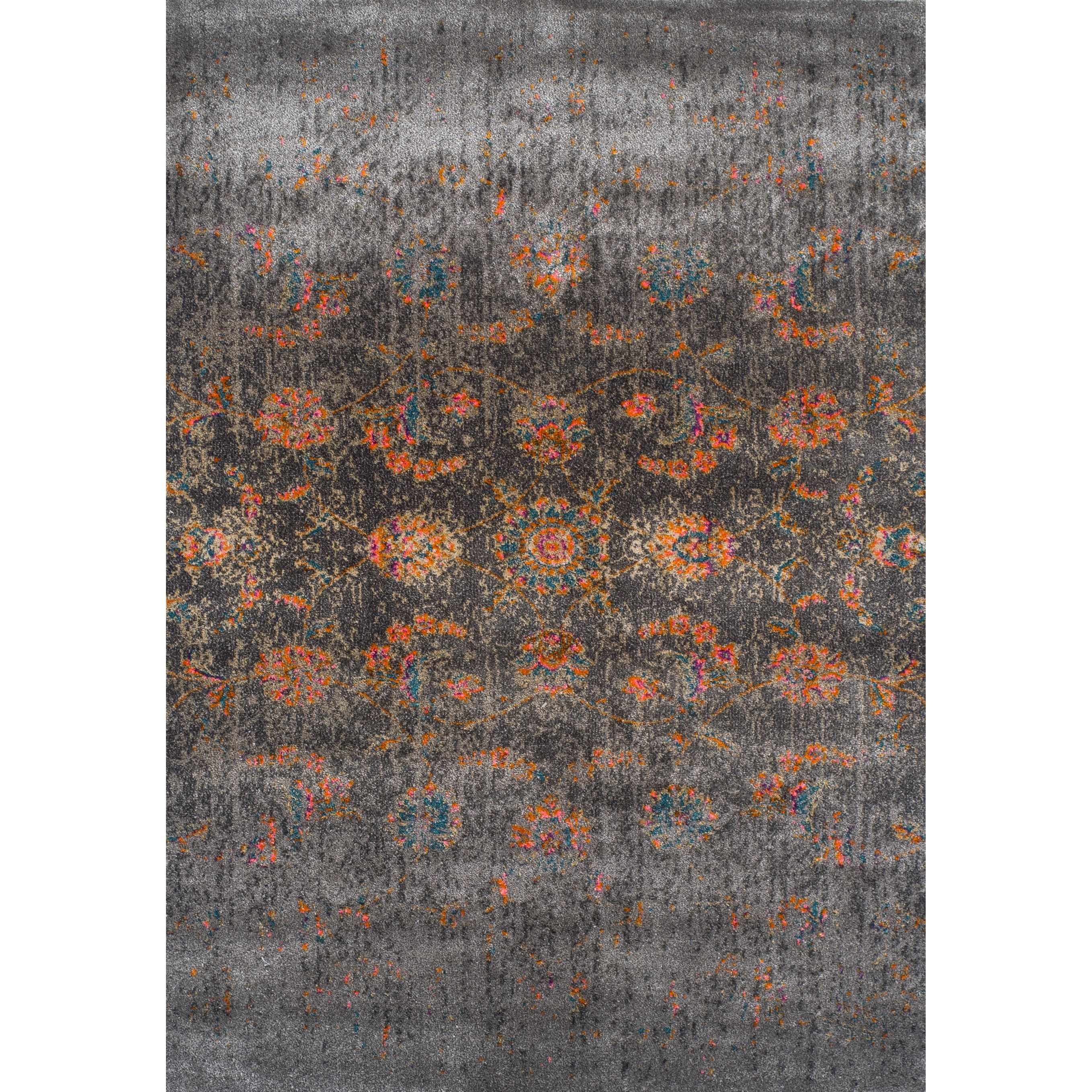 "Dalyn Antiquity Charcoal 9'6""X13'2"" Rug - Item Number: AQ530CC10X13"