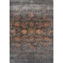 "Dalyn Antiquity Charcoal 7'10""X10'7"" Rug - Item Number: AQ530CC8X11"