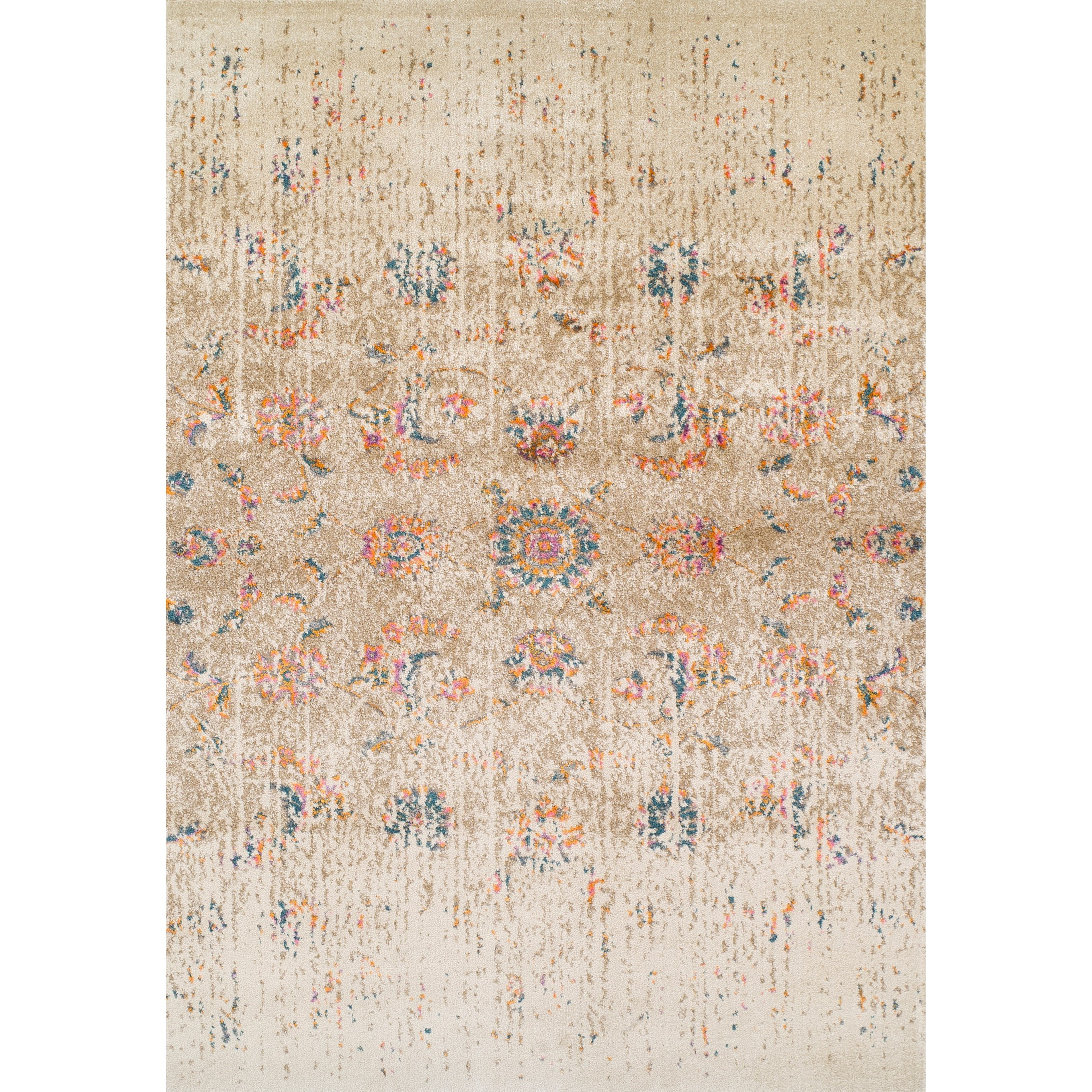 "Dalyn Antiquity Ivory 5'3""X7'7"" Rug - Item Number: AQ530IV5X8"