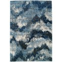 "Dalyn Arturro Navy 5'3""X7'7"" Rug - Item Number: AT7NA5X8"
