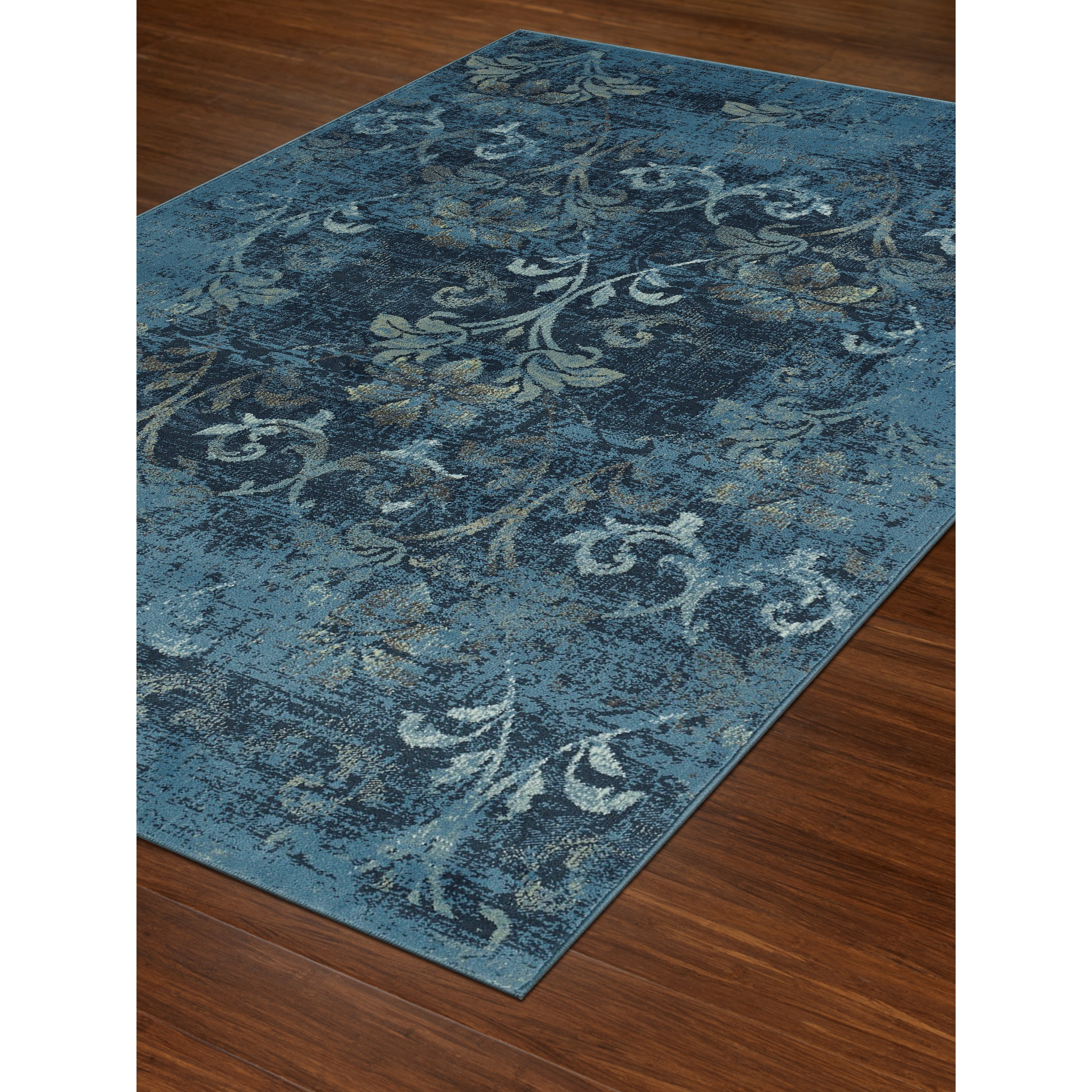 "Dalyn Beckham Sky Blue 4'11""X7'5"" Rug - Item Number: BC1244SB5X7"