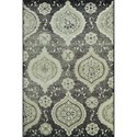 "Dalyn Beckham Stone 3'3""X5'1"" Rug - Item Number: BC1548ST3X5"