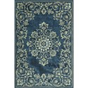 "Dalyn Beckham Denim 3'3""X5'1"" Rug - Item Number: BC185DE3X5"