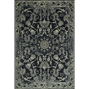 "Dalyn Beckham Black 4'11""X7'5"" Rug"