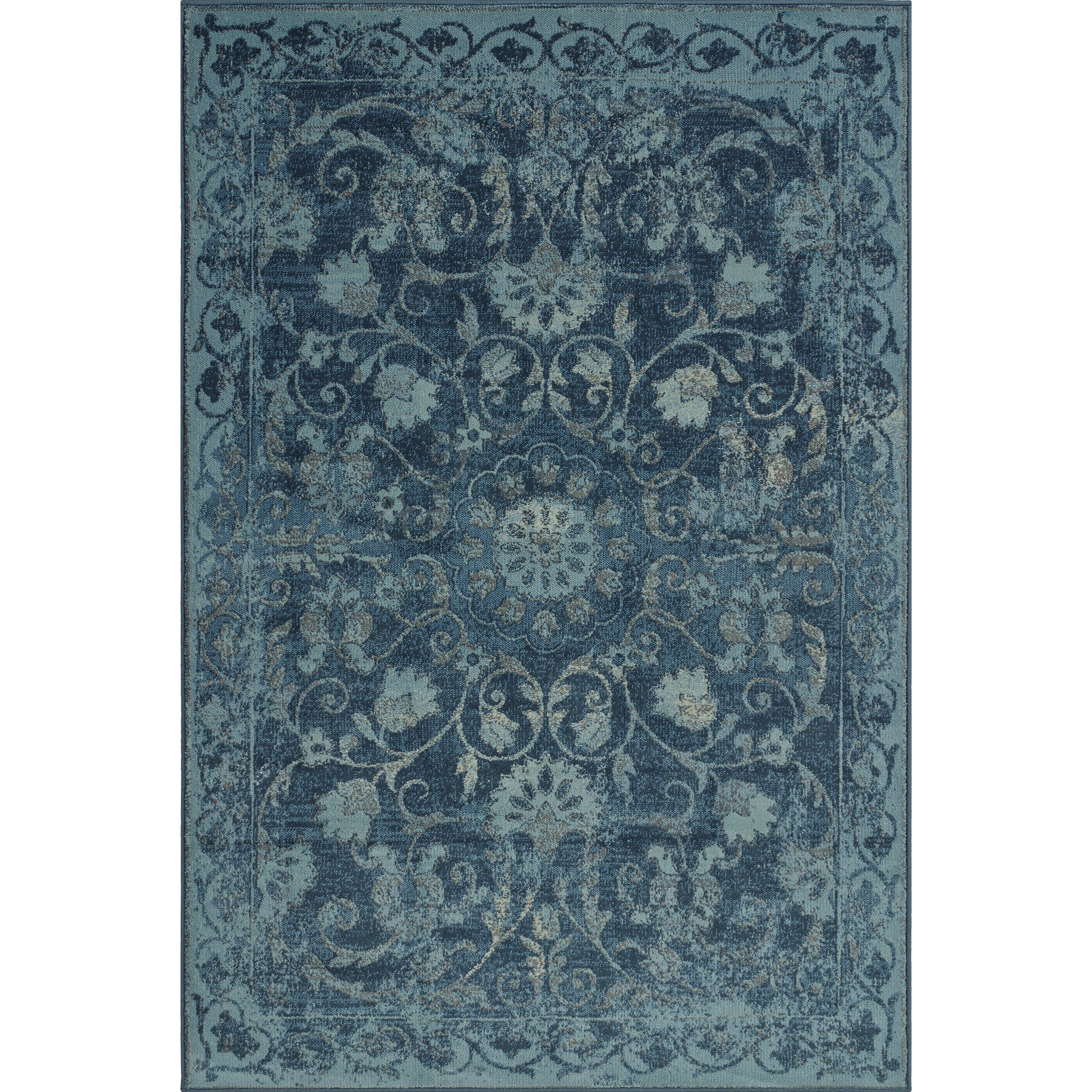 "Dalyn Beckham Denim 3'3""X5'1"" Rug - Item Number: BC29DE3X5"