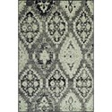 "Dalyn Beckham Stone 3'3""X5'1"" Rug - Item Number: BC8444ST3X5"
