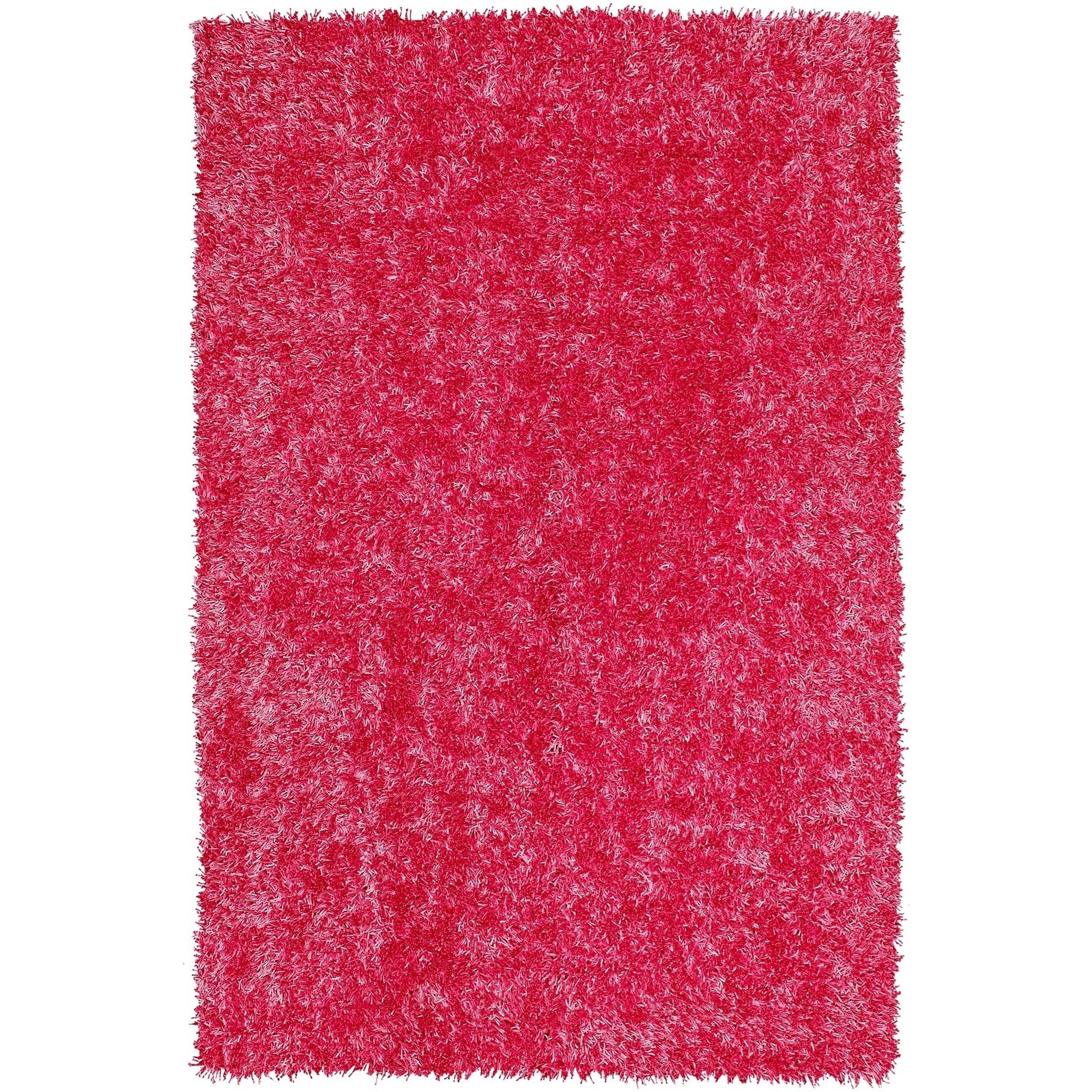 "Dalyn Bright Lights Hot Pink 3'6""X5'6"" Rug - Item Number: BG69HP4X6"