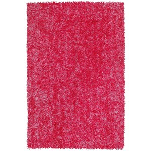 "Dalyn Bright Lights Hot Pink 3'6""X5'6"" Rug"