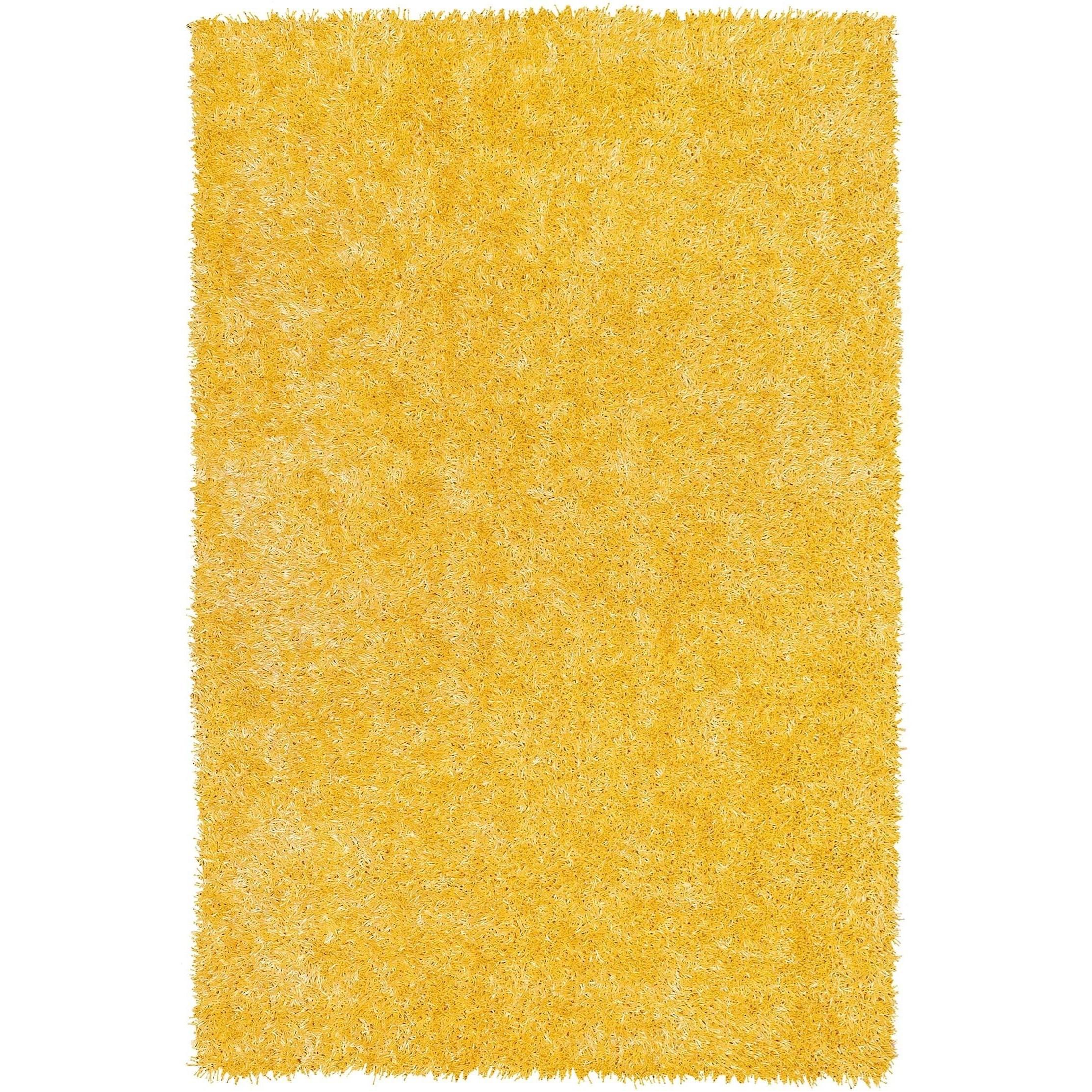 "Dalyn Bright Lights Lemon 3'6""X5'6"" Rug - Item Number: BG69LE4X6"