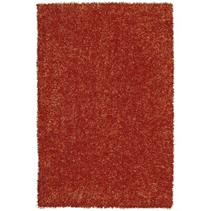 "Dalyn Bright Lights Orange 3'6""X5'6"" Rug"