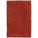 "Dalyn Bright Lights Orange 5'X7'6"" Rug - Item Number: BG69OR5X8"