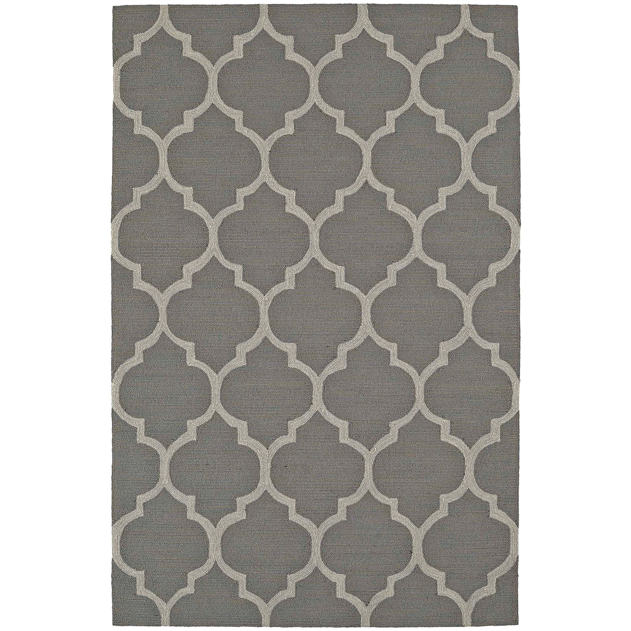 "Dalyn Cabana Pewter 3'6""X5'6"" Rug - Item Number: CN12PE4X6"
