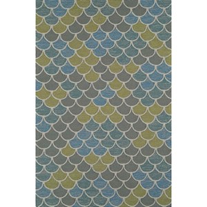 "Dalyn Cabana Multi 3'6""X5'6"" Rug"