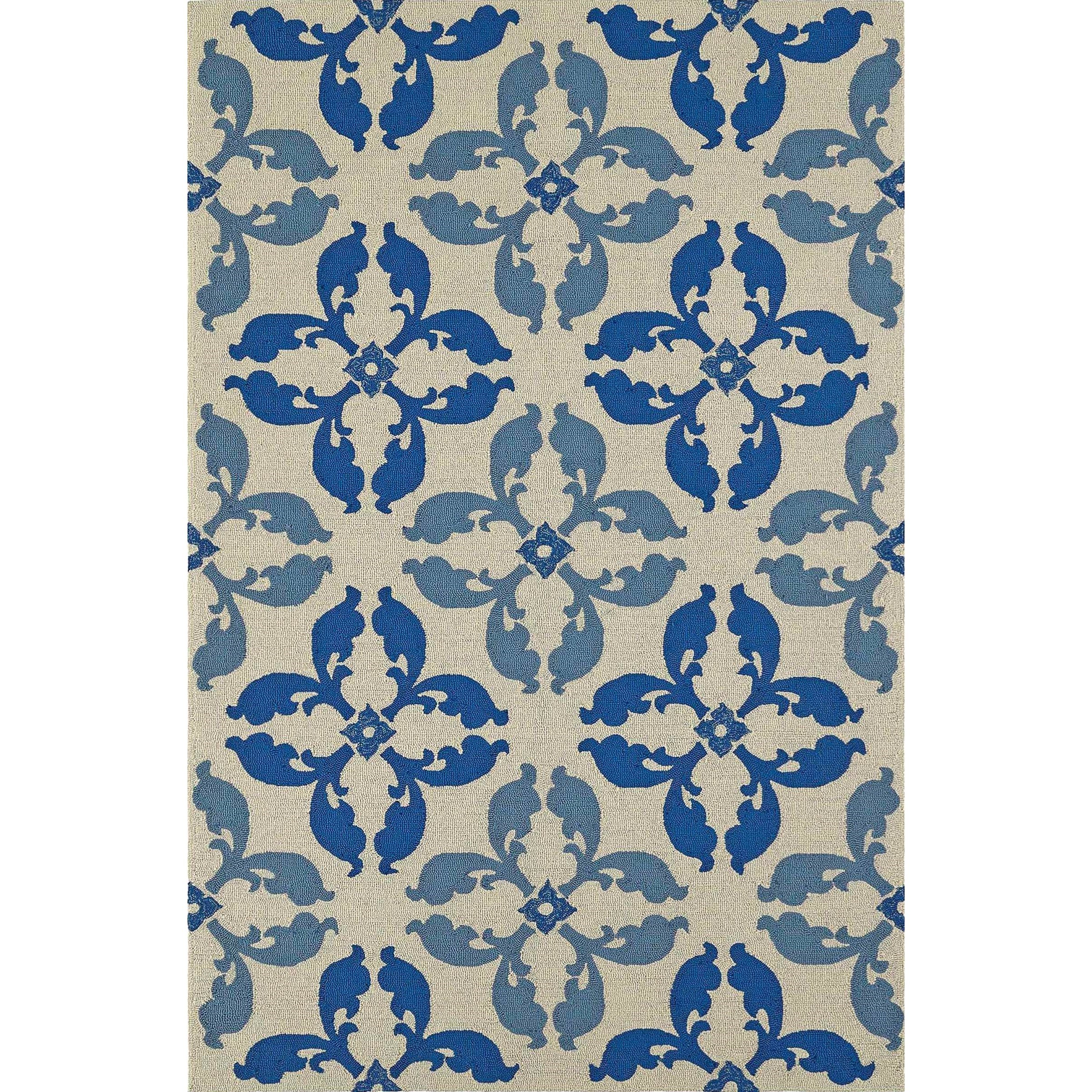 "Dalyn Cabana Baltic 3'6""X5'6"" Rug - Item Number: CN17BA4X6"