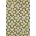 "Dalyn Cabana Lime 3'6""X5'6"" Rug - Item Number: CN17LM4X6"