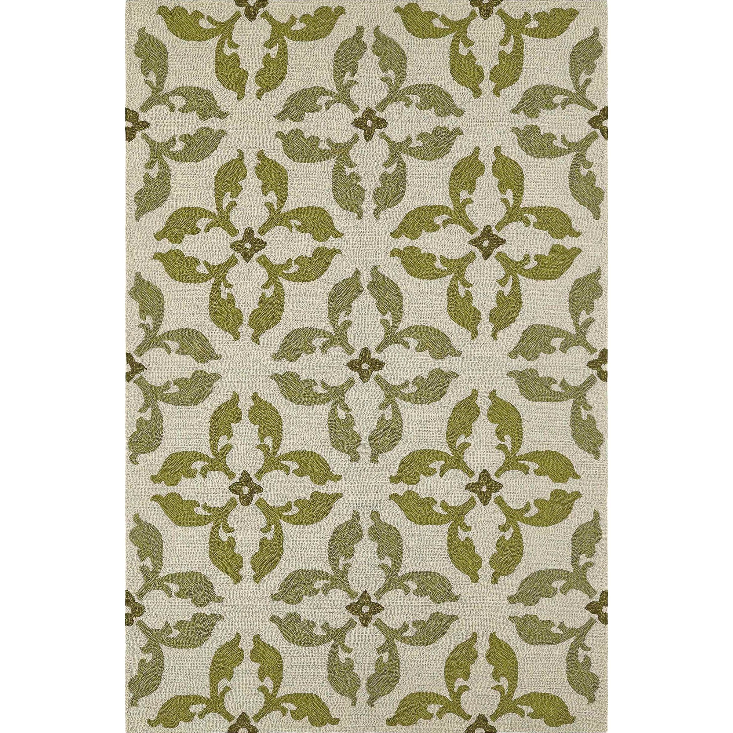 Dalyn Cabana Lime 9'X13' Rug - Item Number: CN17LM9X13