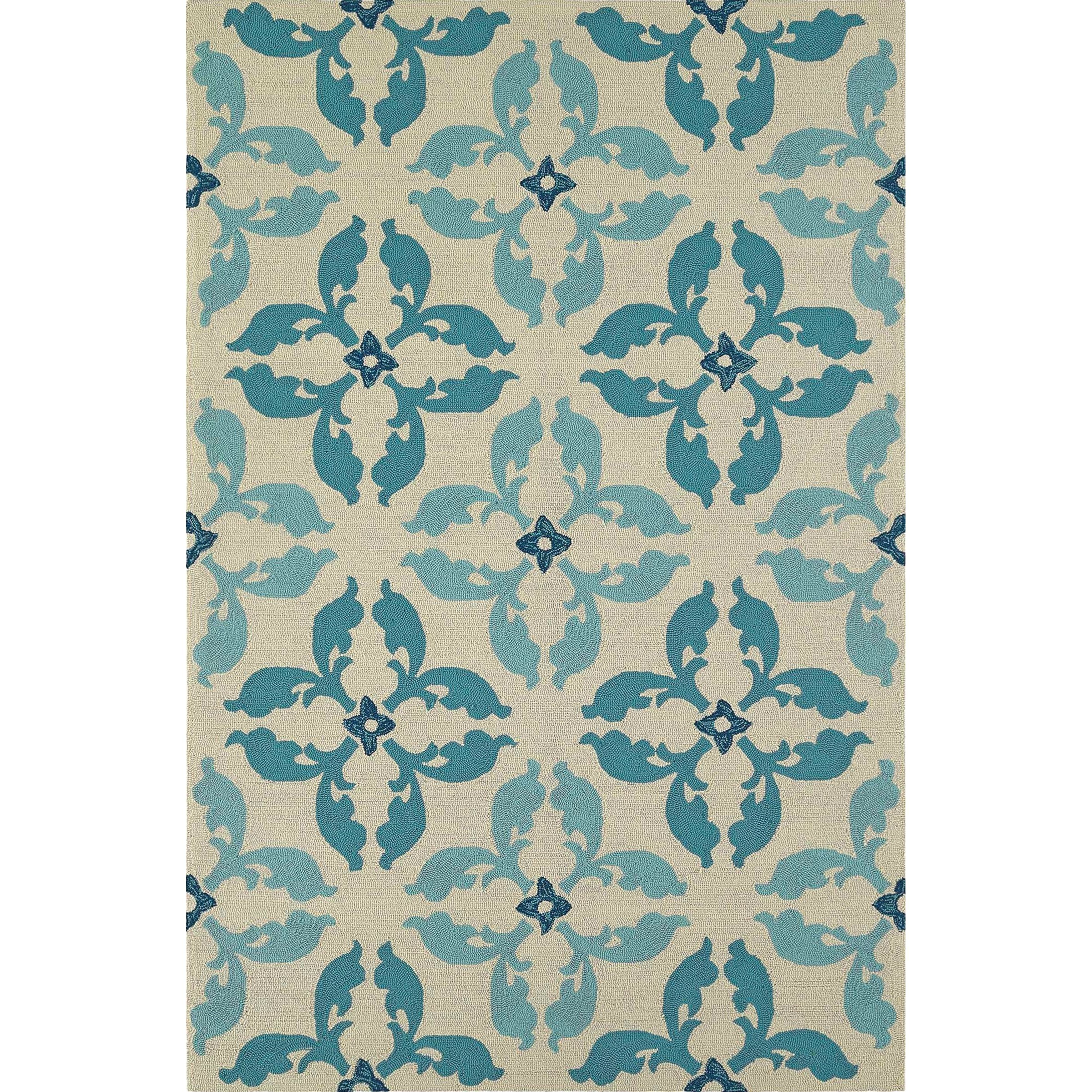 Dalyn Cabana Peacock 8'X10' Rug - Item Number: CN17PC8X10