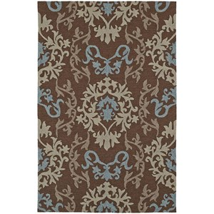 "Dalyn Cabana Chocolate 3'6""X5'6"" Rug"