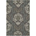 "Dalyn Cabana Graphite 5'X7'6"" Rug - Item Number: CN2GR5X8"