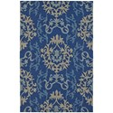 "Dalyn Cabana Navy 3'6""X5'6"" Rug - Item Number: CN2NA4X6"