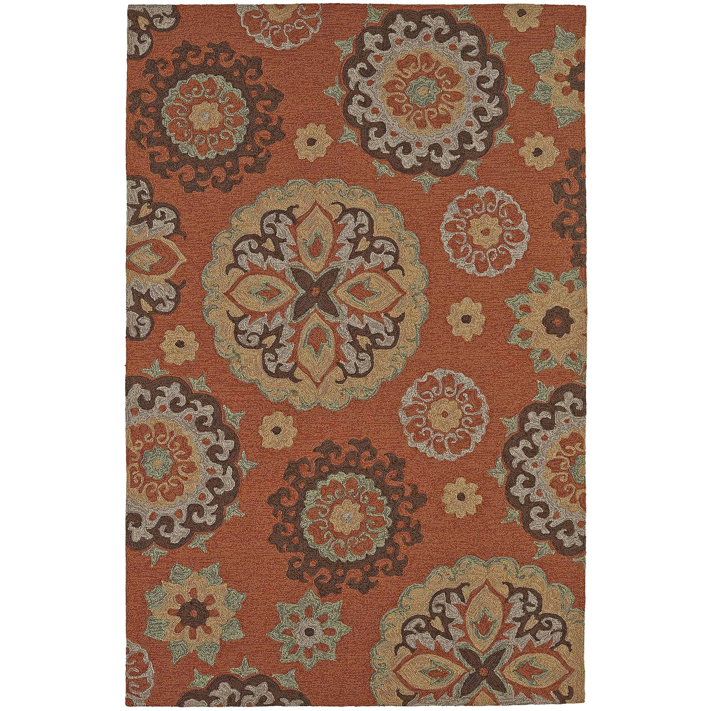 "Dalyn Cabana Spice 3'6""X5'6"" Rug - Item Number: CN3SP4X6"