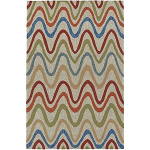 "Dalyn Cabana Multi 5'X7'6"" Rug"