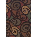 "Dalyn Capri Multi 9'6""X13'2"" Rug - Item Number: CA2061MU10X14"