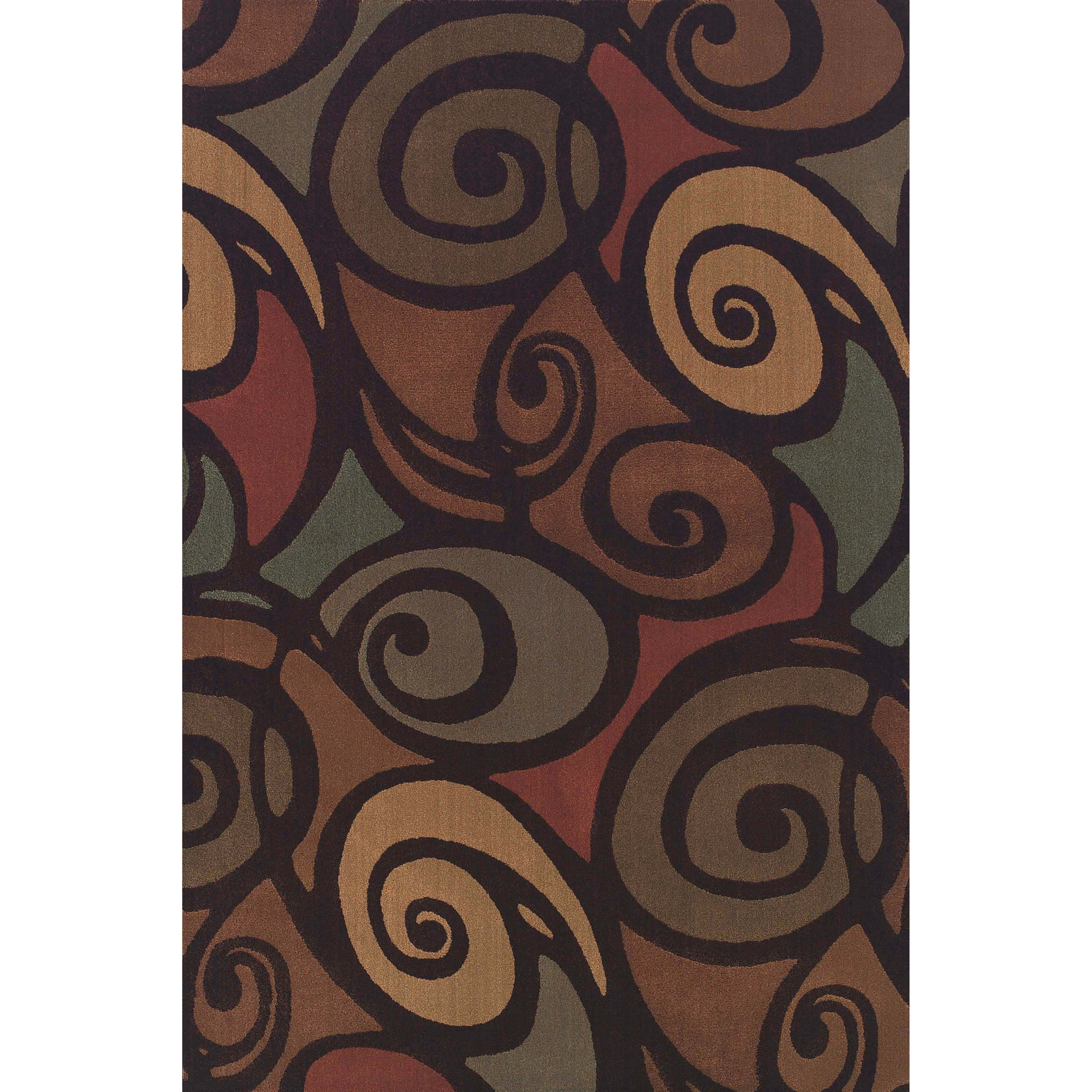"Dalyn Capri Multi 7'10""X10'7"" Rug - Item Number: CA2061MU8X11"