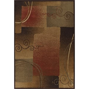 "Dalyn Capri Multi 5'3""X7'7"" Rug"