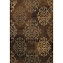 "Dalyn Capri Earth 7'10""X10'7"" Rug - Item Number: CA523EA8X11"