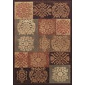 "Dalyn Capri Sable 9'6""X13'2"" Rug - Item Number: CA6SA10X14"