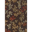 "Dalyn Capri Chocolate 9'6""X13'2"" Rug - Item Number: CA71CH10X14"