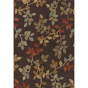 "Dalyn Capri Chocolate 5'3""X7'7"" Rug"