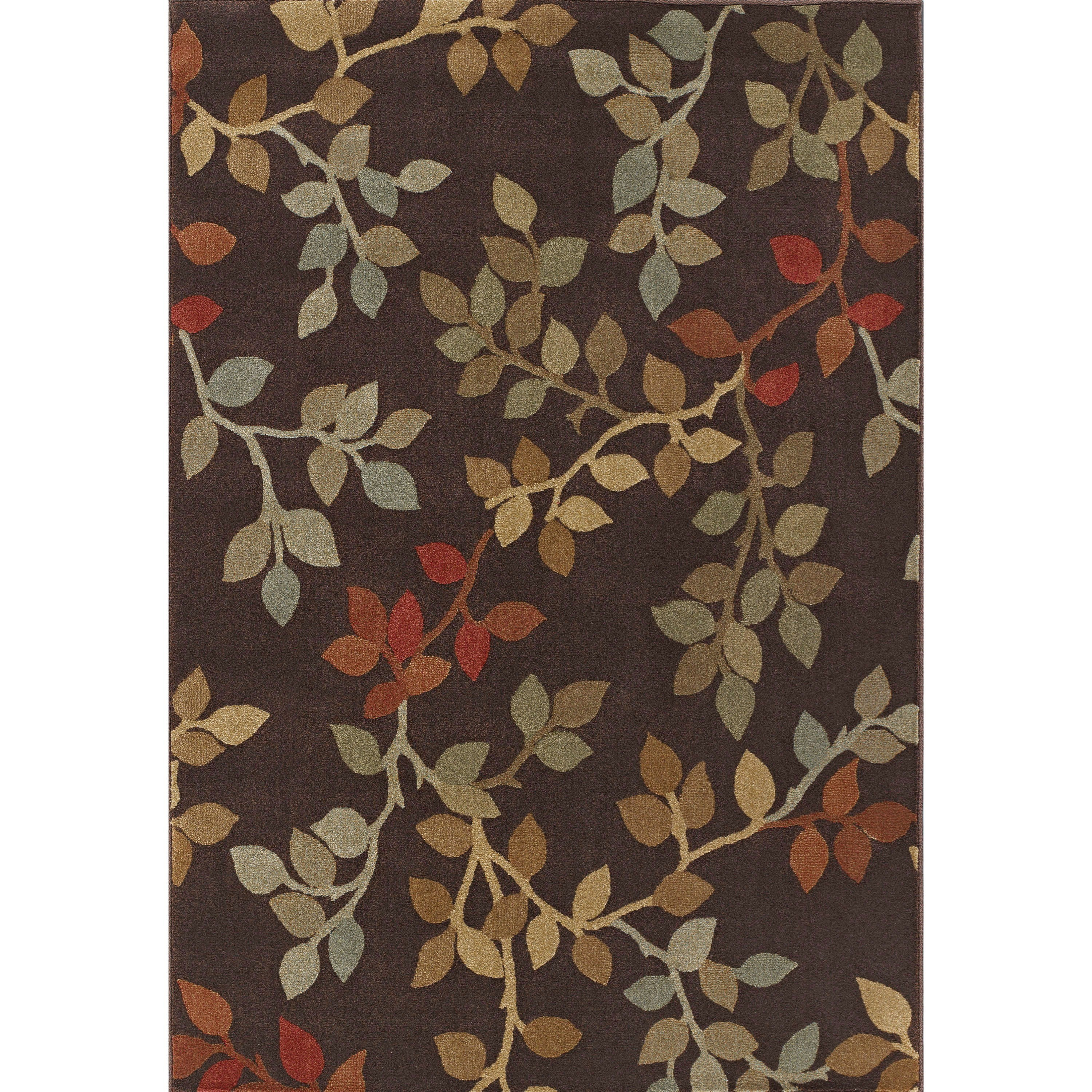 "Dalyn Capri Chocolate 7'10""X10'7"" Rug - Item Number: CA71CH8X11"