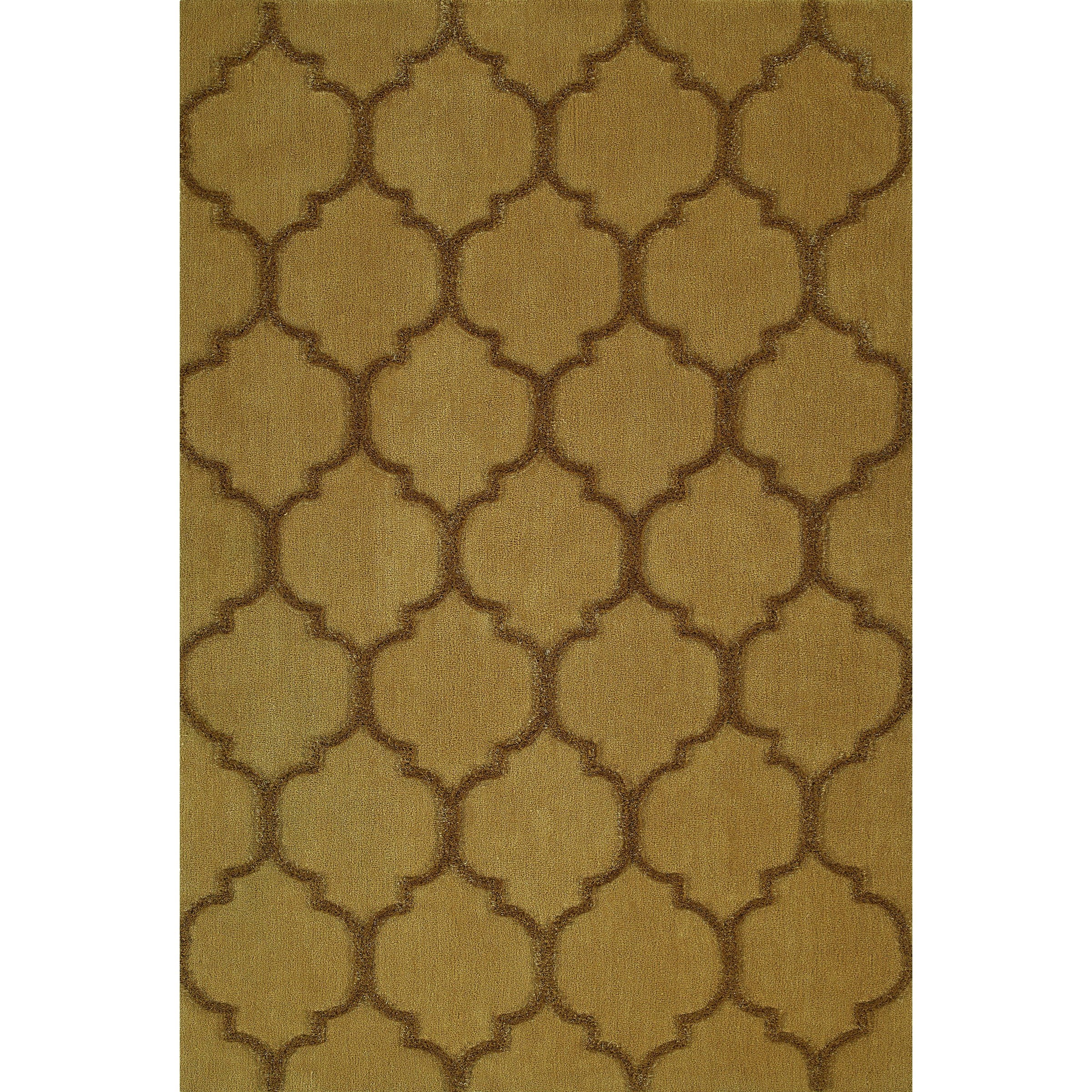 Gold 8'X10' Area Rug