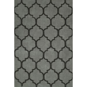 "Silver 5'X7'6"" Area Rug"