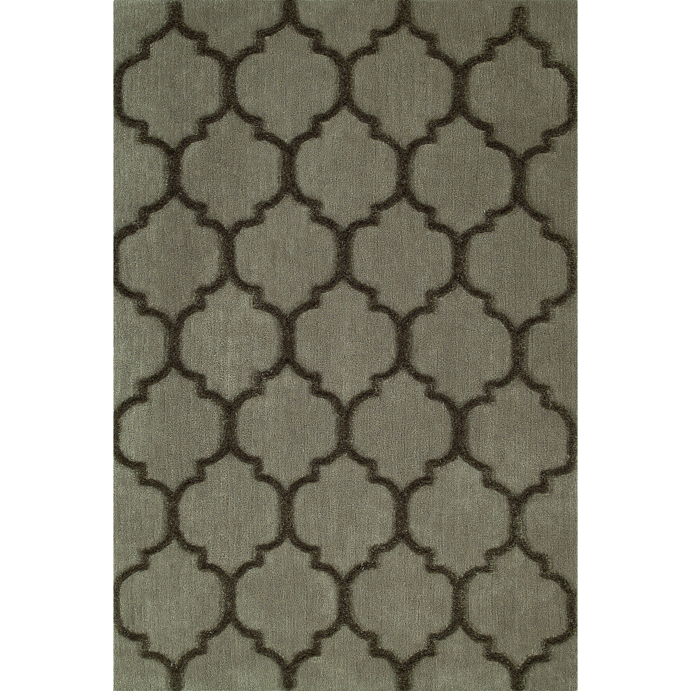 """Taupe 3'6""""X5'6"""" Area Rug"""