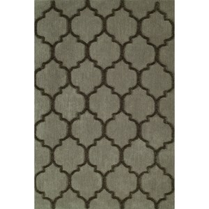 "Taupe 3'6""X5'6"" Area Rug"