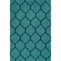 "Dalyn Dakota Teal 3'6""X5'6"" Area Rug - Item Number: DK2TE4X6"