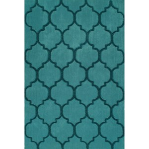"Dalyn Dakota Teal 5'X7'6"" Area Rug"