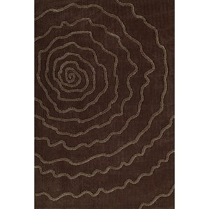 "Dalyn Dakota Chocolate 5'X7'6"" Area Rug"