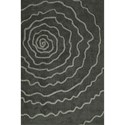 "Dalyn Dakota Grey 3'6""X5'6"" Area Rug - Item Number: DK3GR4X6"