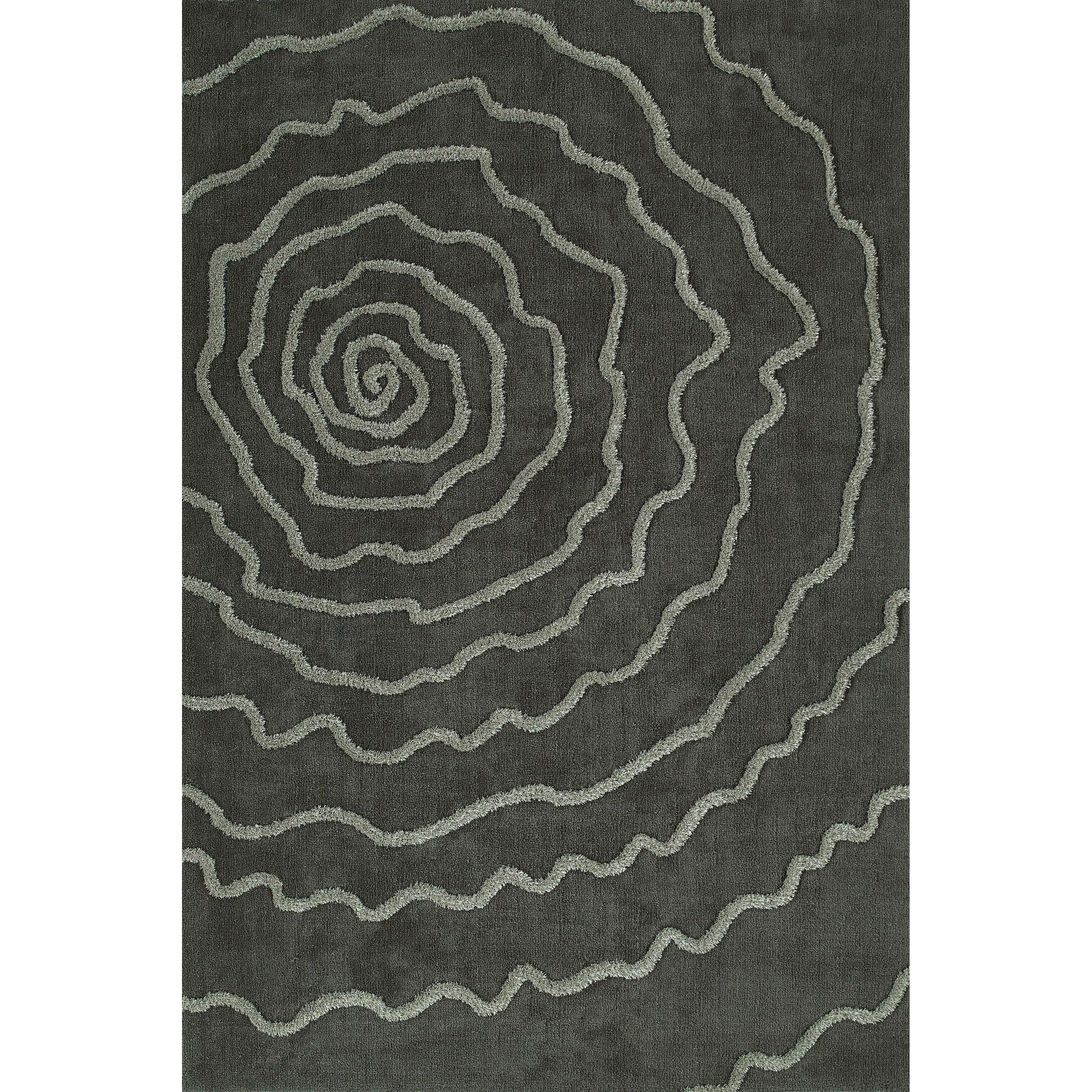 Grey 8'X10' Area Rug