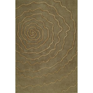 "Dalyn Dakota Sand 3'6""X5'6"" Area Rug"